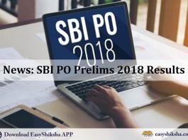 SBI PO , result, Prelims Result