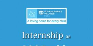 SOS, SOS India, Internship