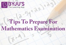 tips, mathematics, exam, byju's