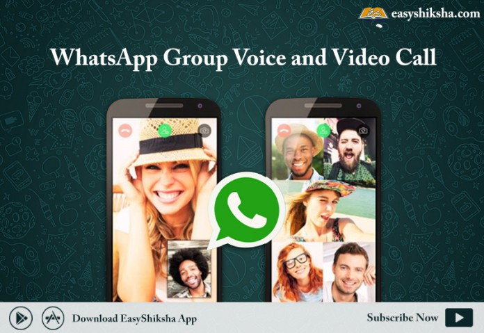 WhatsApp Group Voice and Video, whats app
