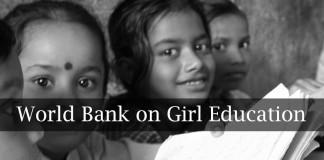 world bank, report, girls