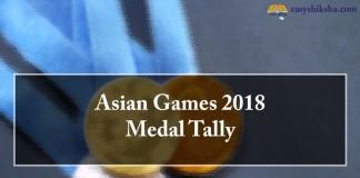 Asian Games, Asian Games 2018