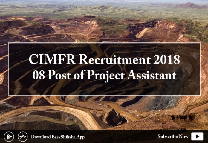 CIMFR, recruitment