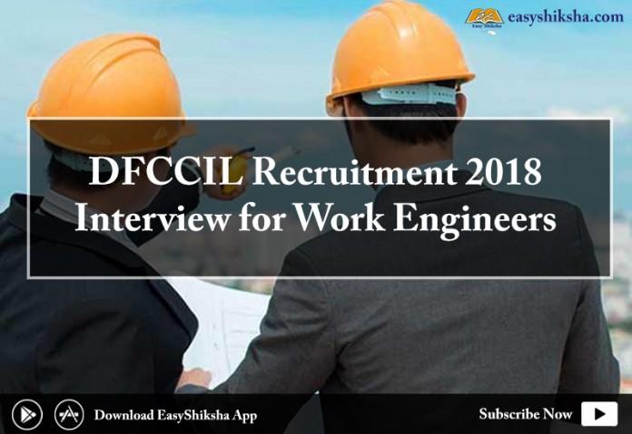 DFCCIL, DFCCIL Career Recruitment 2018