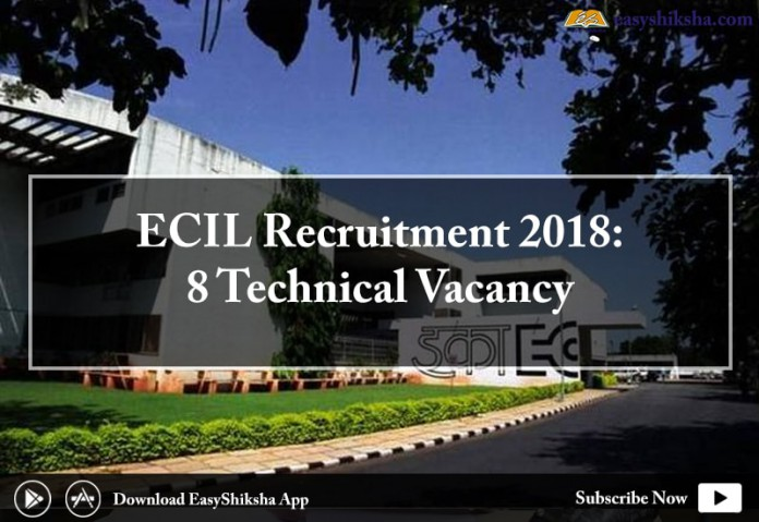 ECIL, ECIL recruitment