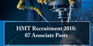 HMT , HMT Recruitment