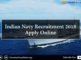 Indian Navy , Indian Navy Recruitment 2018