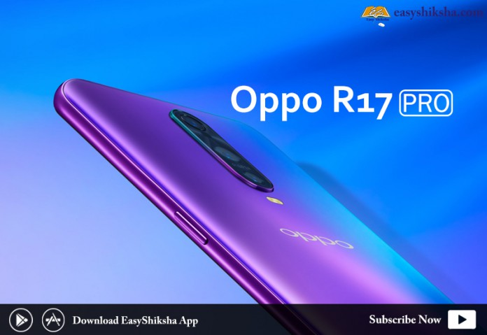 Oppo R17 pro, Price, Specification