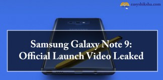 Samsung Galaxy, Note 9