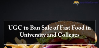 UGC, Fast Food in University and Colleges