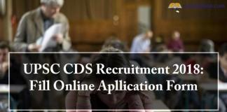 UPSC CDS, recruitment