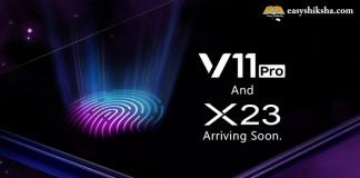 Vivo V11 Pro, Vivo X23