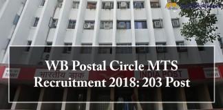 MTS Recruitment , west bengal