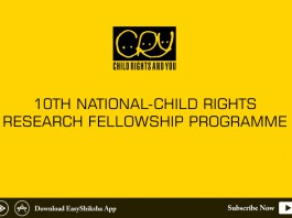 CRY, Child Rights and You, Applications