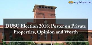 DUSU, DUSU election, 2018