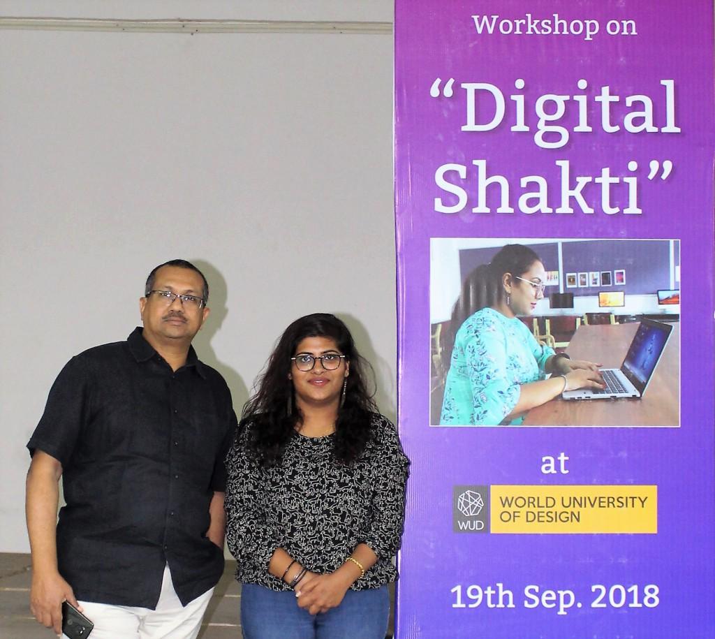 Digital Shakti at WUD