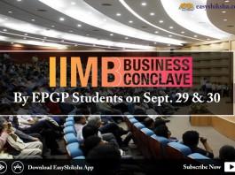 IIMB, business conclave