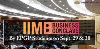 IIMB, business conclave