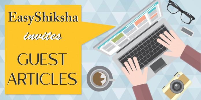 EasyShiksha, Guest article,