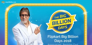 Big Billion Day, flipkart sale