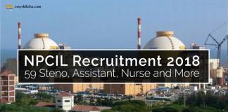 NPCIL, NPCIL Recruitment, NPCIL jobs