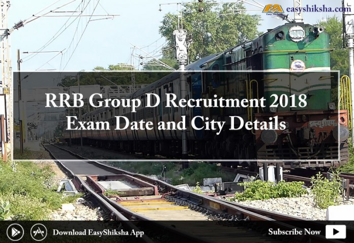 RRB, RRB Group D, exam date, RRB Group D admit card