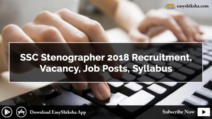 SSC ,Stenographer, SSC Stenographer