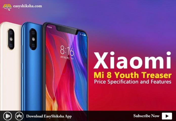 Xiaomi mi 8 youth, Mi 8