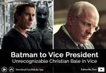 Christian Bale, Christian Bale in Vice