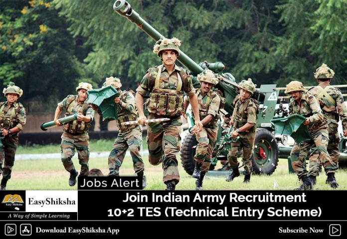 Join Indian Army, Recruitment