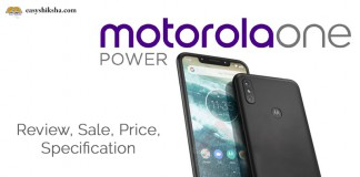 Motorola one power price specification review