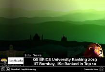 IITB, IIS, QS BRICS Ranking