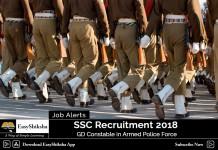 SSC, Jobs, 2018