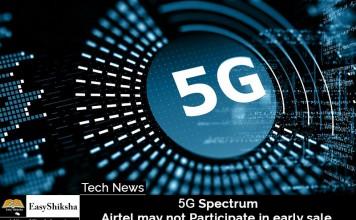 5G Spectrum, Airtel