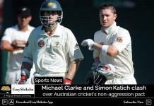 Clarke and Katich clash over Australian cricket's non-aggression pact