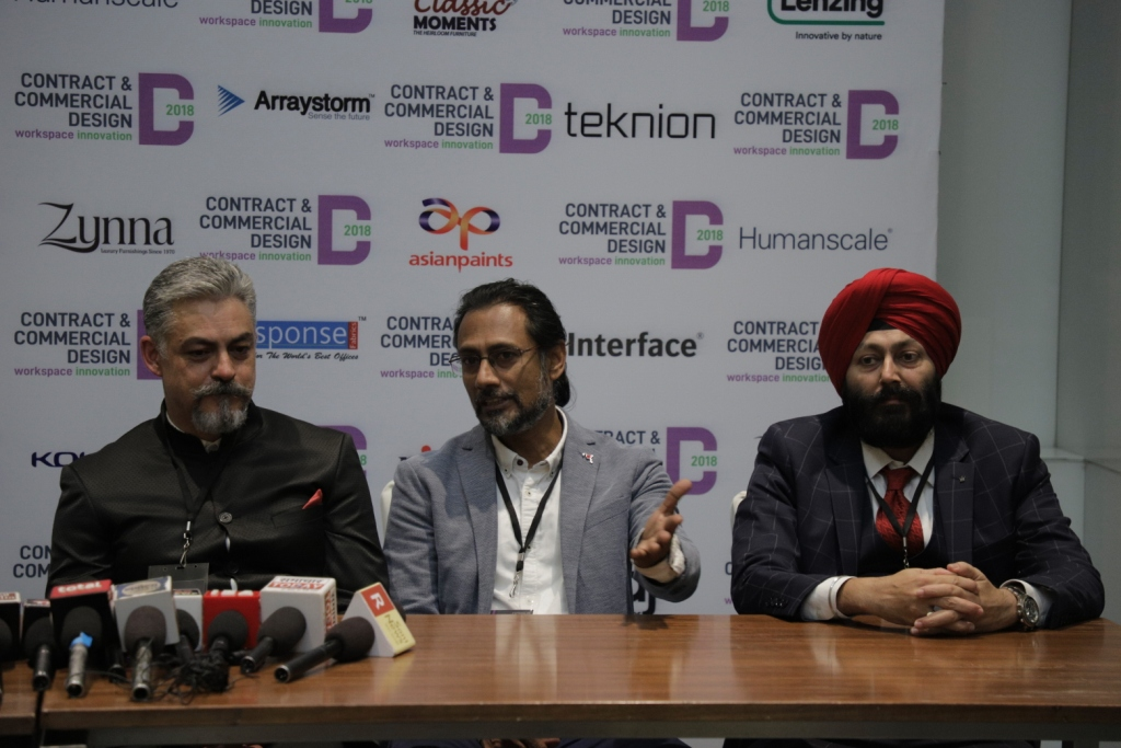 Deben Moza (Executive Director, Knight Frank India)_ Nilanjan Bhowal (Principal Architect, Design Consortium)_ Manjeet Singh Bakshi ( CEO, TCMM)