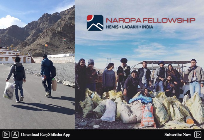 Naropa Cleanliness Drive Leh