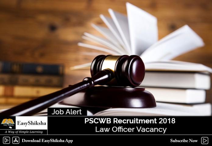 PSCWB Recruitment
