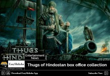 Thugs of Hindostan, Box Office Collection