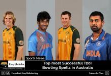 T20I Bowling Spells
