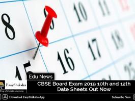cbse board exam, date sheet