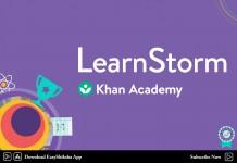 Khan Academy, LearnStorm 2018