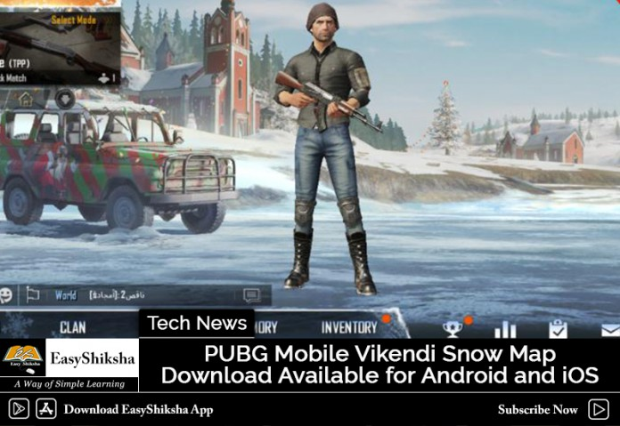 Download Pubg Mobile For Iphone Ipad Android Released: PUBG Mobile Vikendi Snow Map Download Available For