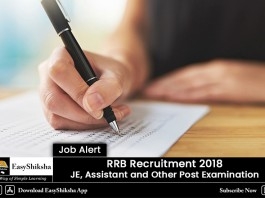 RRB Recruitment JE
