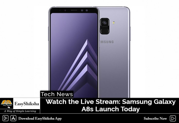 Watch the Live Stream: Samsung Galaxy A8s Launch Today