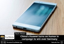 China's Huawei Turns on Humor in Campaign to win over Germany