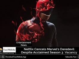 Netflix Cancels Marvel's Daredevil Despite Acclaimed Season 3
