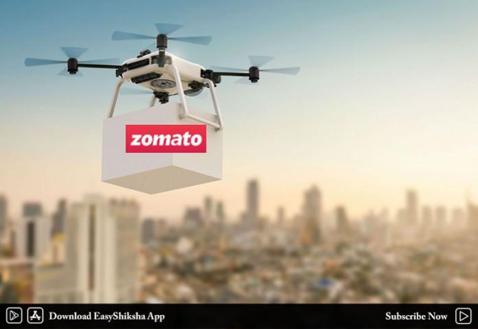 Zomato, TechEagle Innovations, Drone Delivery