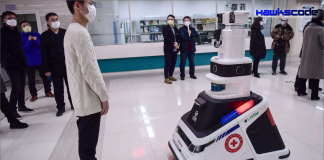 A City Locks Down to Fight Coronavirus but Robots Come and Go