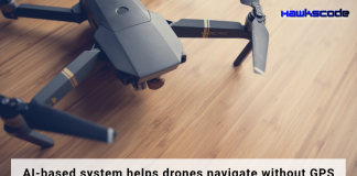 AI based system helps drones navigate without GPS